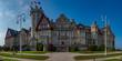 Santander / Hiszpania - 14 lipca 2018: Palacio de la Magdalena - Santander w słoneczny lipcowy dzień