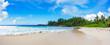 beautiful paradise beach at the police bay, seychelles 40
