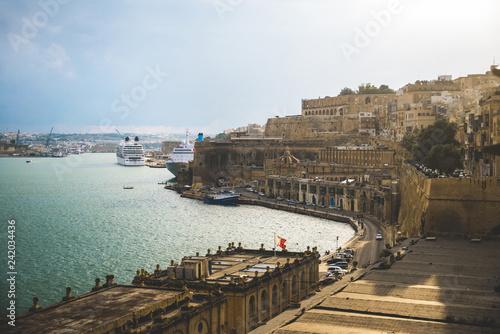 Tuinposter Schip Valletta, Malta - October 12th 2018