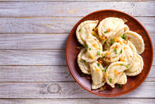 Dumplings, Filled With Cabbage...