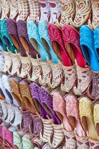 Photo  Traditional Arabian Shoes