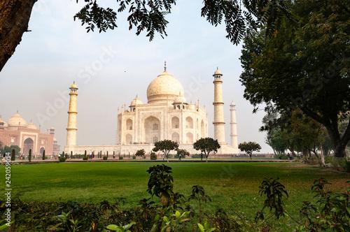 Fotografie, Obraz  taj mahal india