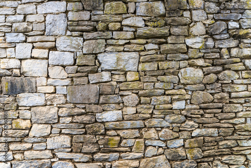 stone ancient wall - 242060088