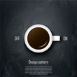 Coffee conception. Metaphor for idea
