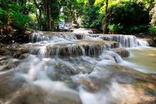 Beautiful Limestone Waterfall ...