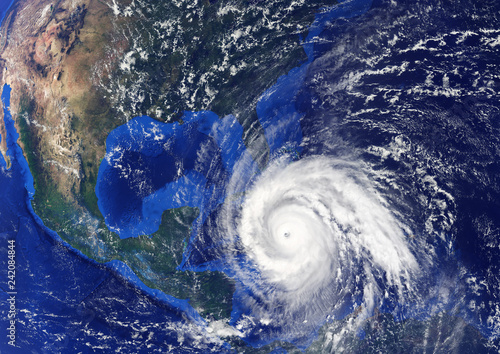 Foto op Aluminium Nasa Tropical Storm heading to USA.Elements of this image furnished by NASA.