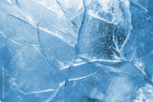 Fotografiet Abstract ice background