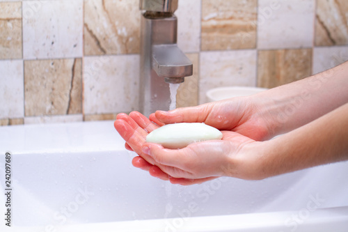 Fotografía  Hand hygiene