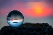 Upside Down Sunset Landscape ...
