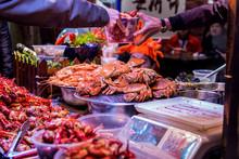 Seafood Stalls At Changsha Foo...