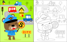Vector Illustration Of Colorin...