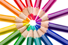 Macro - Circle Of Pencils Rain...