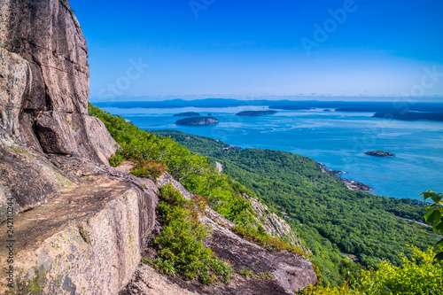 The Precipice Trail in Acadia National Park, Maine Wallpaper Mural
