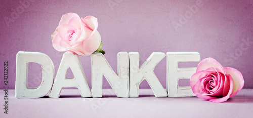 Danke Sagen Grußkarte Geburtstag Muttertag In Pink