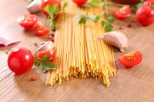 Spaghetti And Tomato