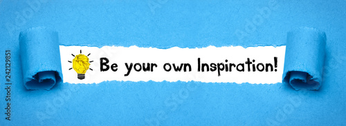 Be your own Inspiration! Wallpaper Mural