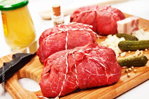 Rinderrouladen Beef Roulades