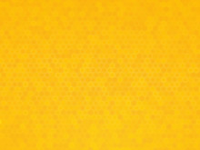 Yellow Hexagon Texture