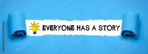 Każdy ma swoją historię