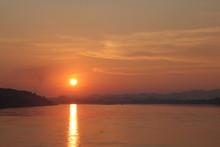 Sunset Chiang Khan, Mekong River