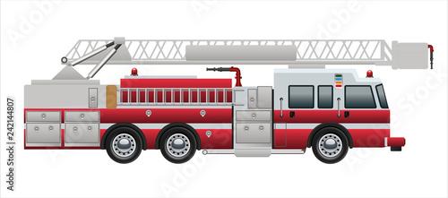 Valokuva fire truck pump