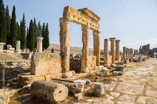 Fotografia  Denizli Pamukkale Hierapolis Ancient City