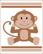 Animal-Brown Baby Monkey