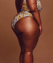Overweight Woman Body