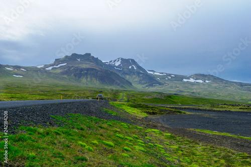 Zdjęcie XXL Krajobraz i wulkan Snaefellsjokull