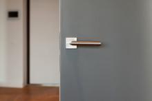 New Door With Metallic Handle ...