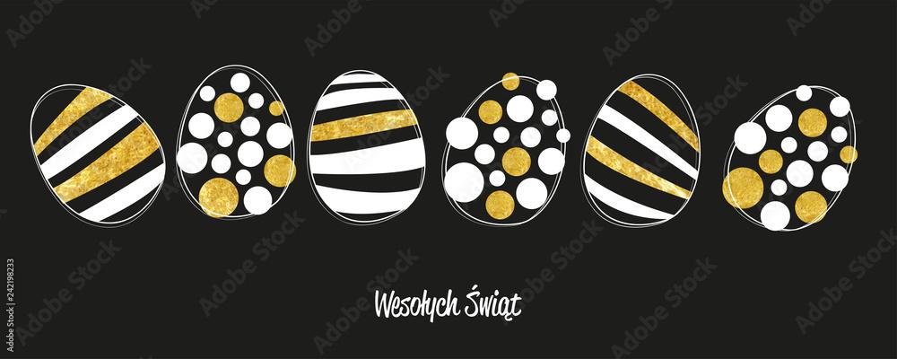 Fototapeta Wesołego Alleluja kartka z życzeniami Wielkanoc