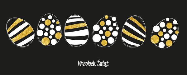 Wesołego Alleluja kartka z życzeniami Wielkanoc