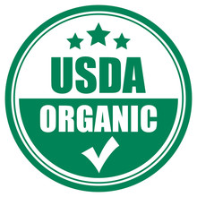 Usda Organic Vector Icon