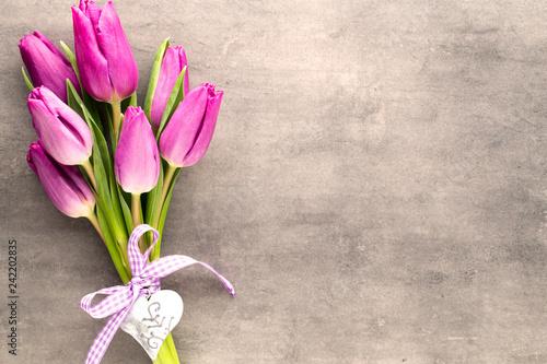 Tulip. Canvas