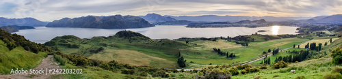 Recess Fitting Natuur Roys Peak Track, Wanaka, New Zealand, South Island, NZ