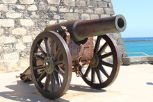 Cannon On Wall