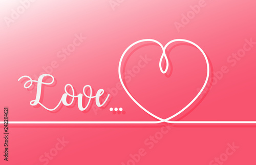 Photo  Valentine's day background