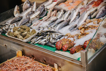 Seafood At The Market In Istan...