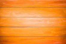 Orange Wood Planks Background