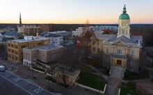 View On Athens, GA City Hall A...
