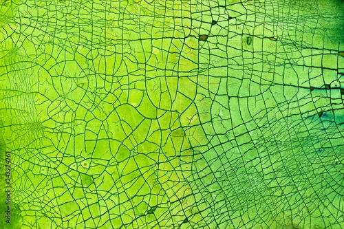 In de dag Macrofotografie Crackle background texture