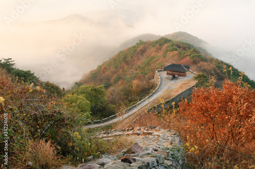 Foto  mountain fortress