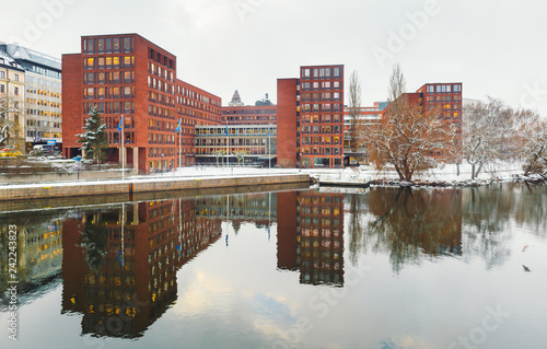 Photo  Beautiful cityscape Stockholm Sweden