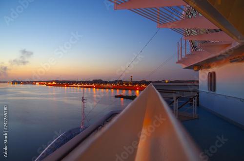 Fotografie, Obraz Sonnenaufgang über Ijmuiden