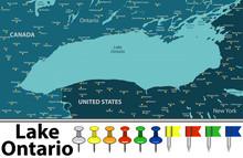 Map Of Lake Ontario