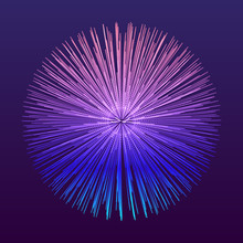 3d Abstract Sphere. Array With Dynamic Particles. Modern Science And Technology Element. Vector Illustration.