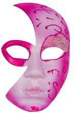 Masque Rouge, Fond Blanc