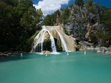 Beautiful Turner Falls On A Br...
