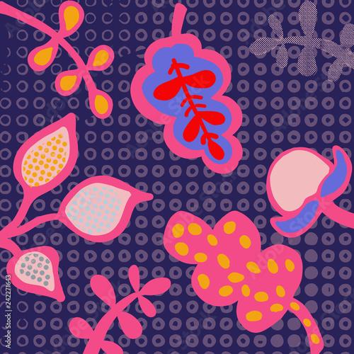 Fototapeta Abstract Artwork Vector Background obraz na płótnie