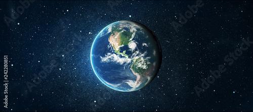 Keuken foto achterwand Nasa earth